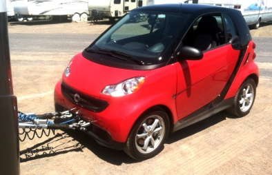 New Tow Vehicle Smart Car for Two Pure