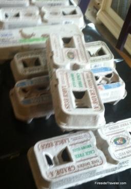 start - egg cartons