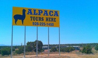SW Alpaca sign