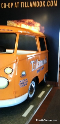 Tillamook mini bus!