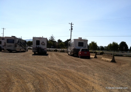 Tillamook RV parking