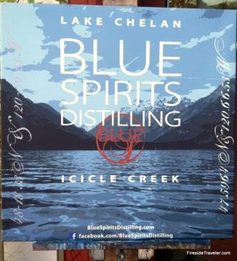 Blue Spirits Sign!