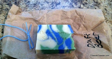 Ocean Shores Draft Beer Soap