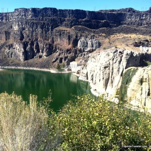 Dry Shohone Falls Idaho