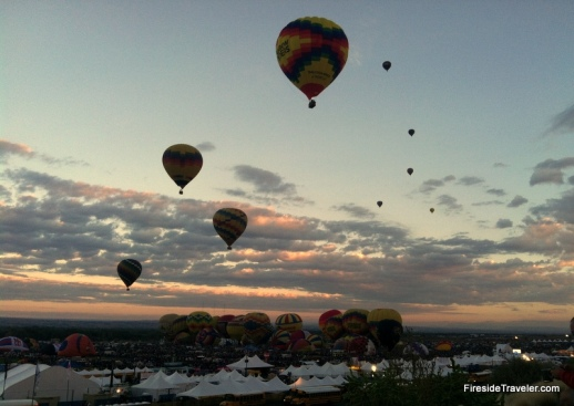 ABQ Balloon Fiesta 2015 Mass Ascension