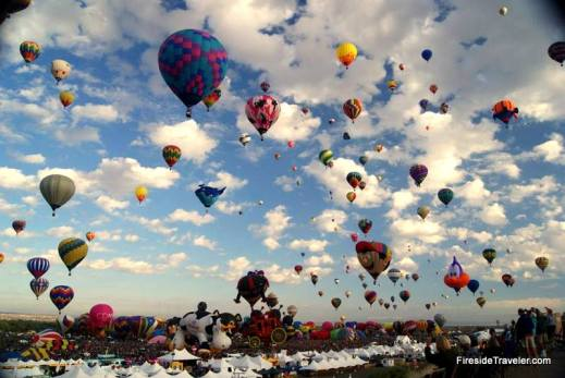 900 Ballons at Mass Ascension Oct 3 2015 ABQ