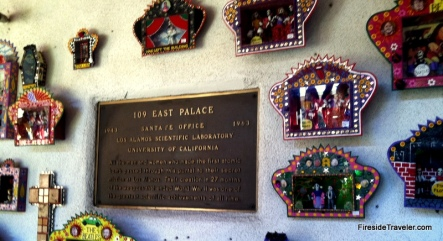 Los Alamos Historic Sign in Santa Fe NM