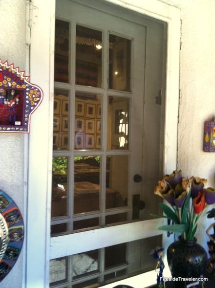 Door to Los Alamos in Santa FE NM