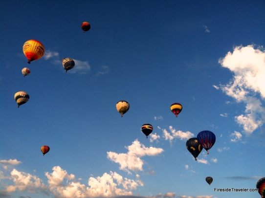 Hot Air Balloons Mass Ascension