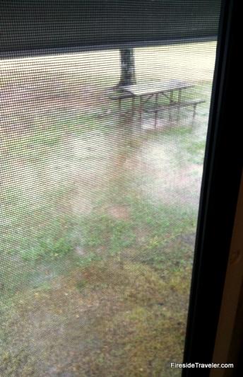 Campsite Flooding Lake Conroe, TX