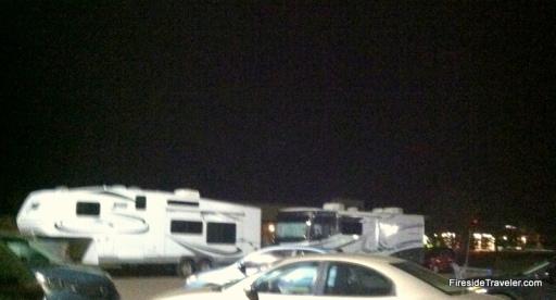 Boondocking Walmart Parking Lot Clovis, NM