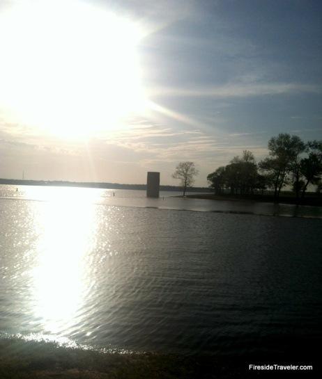 Near Sunset Lake Whitney Texas