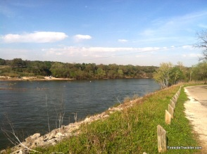 Brazos River Whitney Dam TX
