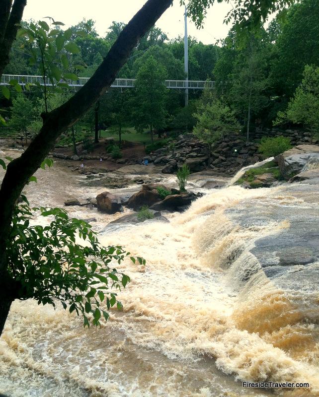 Falls Park Greenville, SC