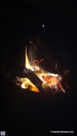 Fireside in North Carolina