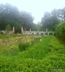 Gardens at the Palace of the Govenors Williamsburg, VA