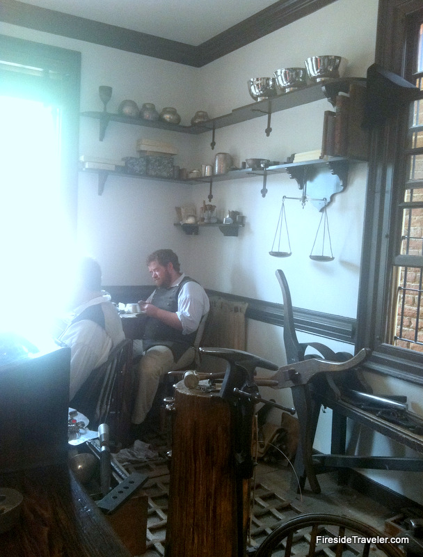 Silversmith Shop