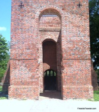 newer church at Jamestown Virginia