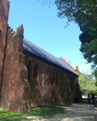1907 Church inside the walls of Jamestown Virginia