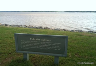 Colonial Highway at Jamestown VA