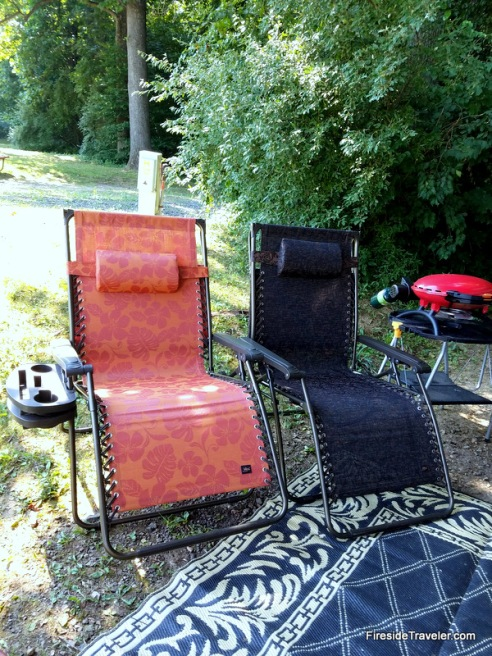Comfy outdoor chairs
